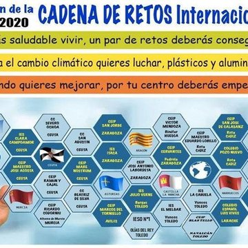 Cadena internacional de retos saludables