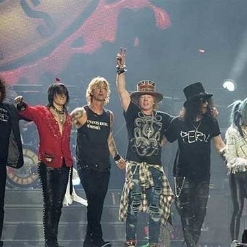 Guns N' Roses, banda norteamericana./ flickr.com