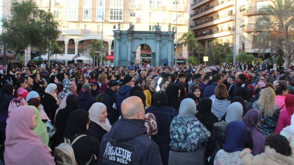 Resultado de imagen de ceuta manifestación