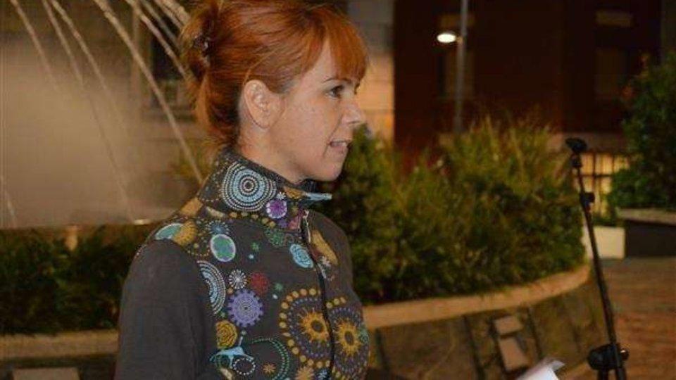 La presidenta de Búscome y miembro de la Plataforma Feminista, Sandra López (C.A./ARCHIVO)