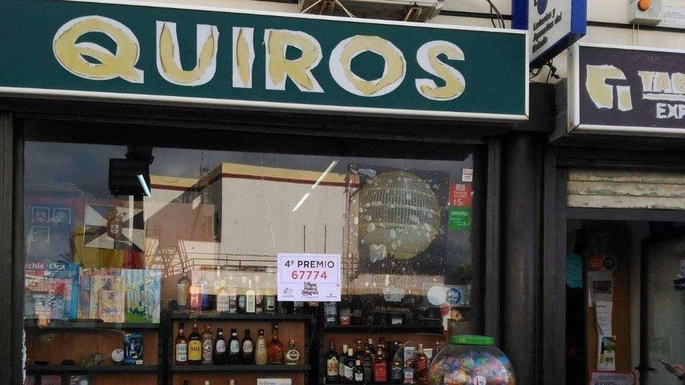 Un cuarto premio de la Lotería de Navidad, en Ceuta
