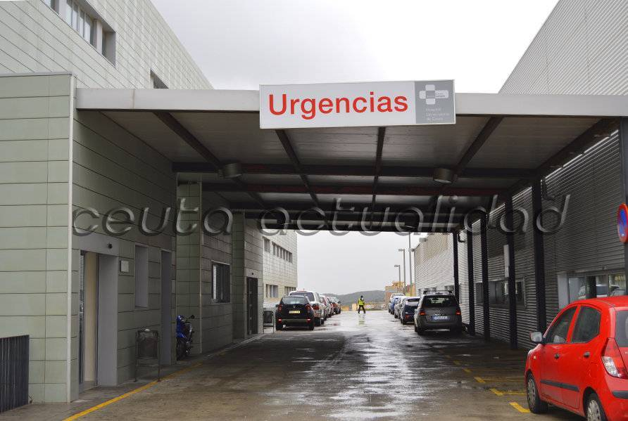 La herida permanece en el servicio de Urgencias del Hospital Universitario / ANTONIO SEMPERE