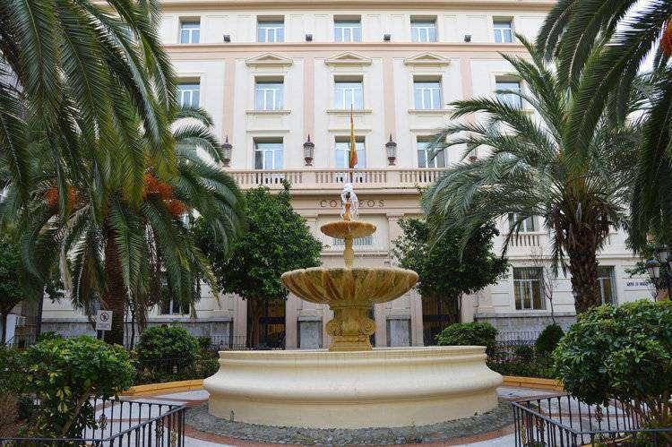 La asamblea acuerda instar a hacienda a acabar con el pago for Edificio de correos madrid