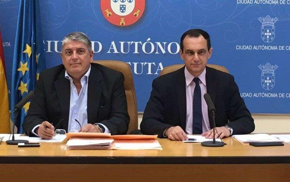 José María Mas y Manuel Hernández, diputados socialistas/ ARCHIVO