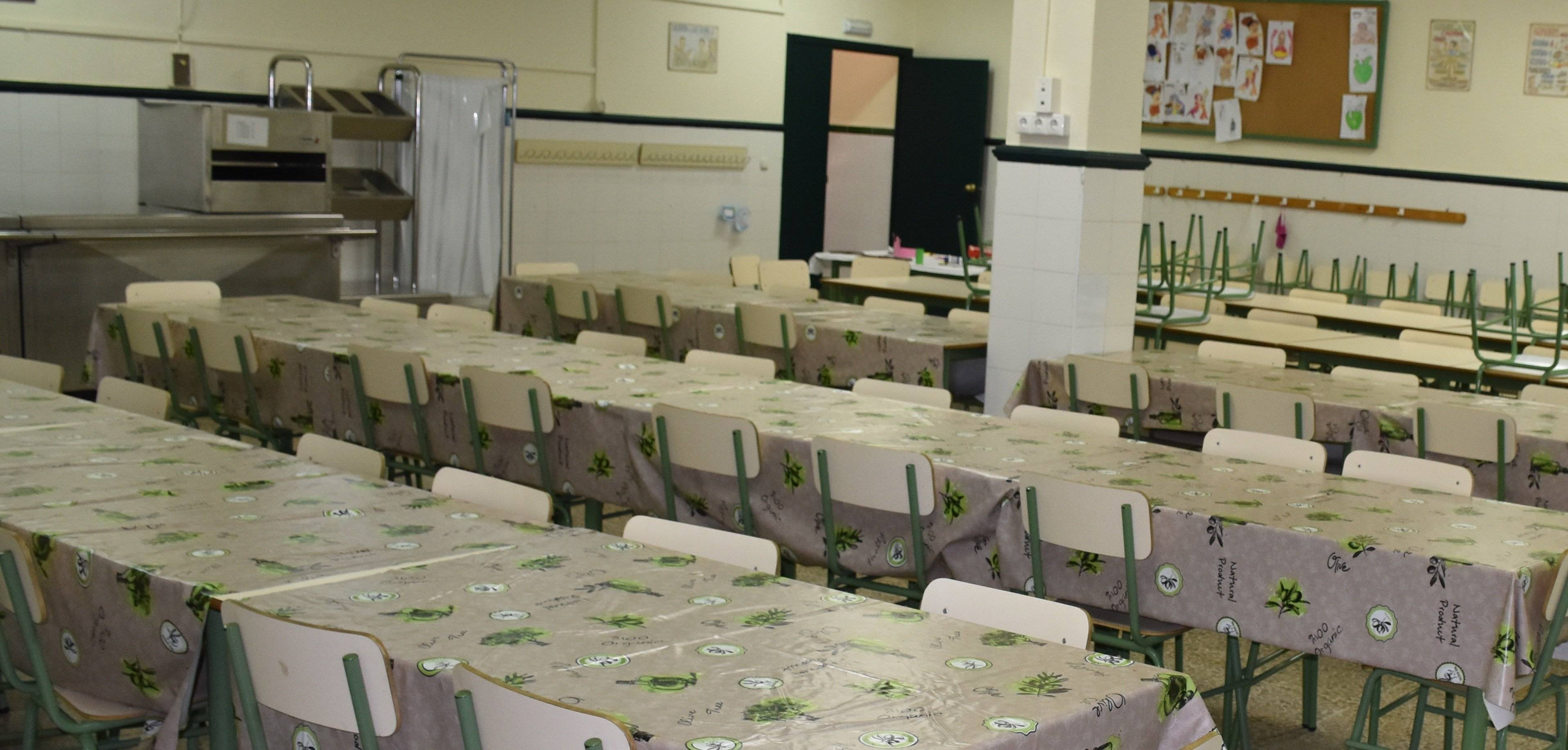 El Ministerio oferta 780 becas de comedor para el próximo curso