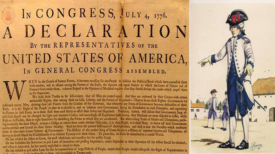 Un ceutí al servicio de George Washington