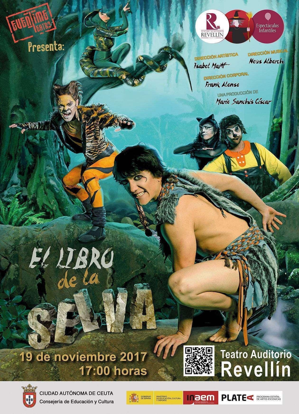 El musical de El libro de la selva tendrá dos funciones