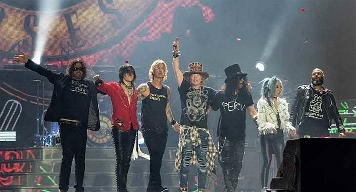 Guns and Roses, banda norteamericana.