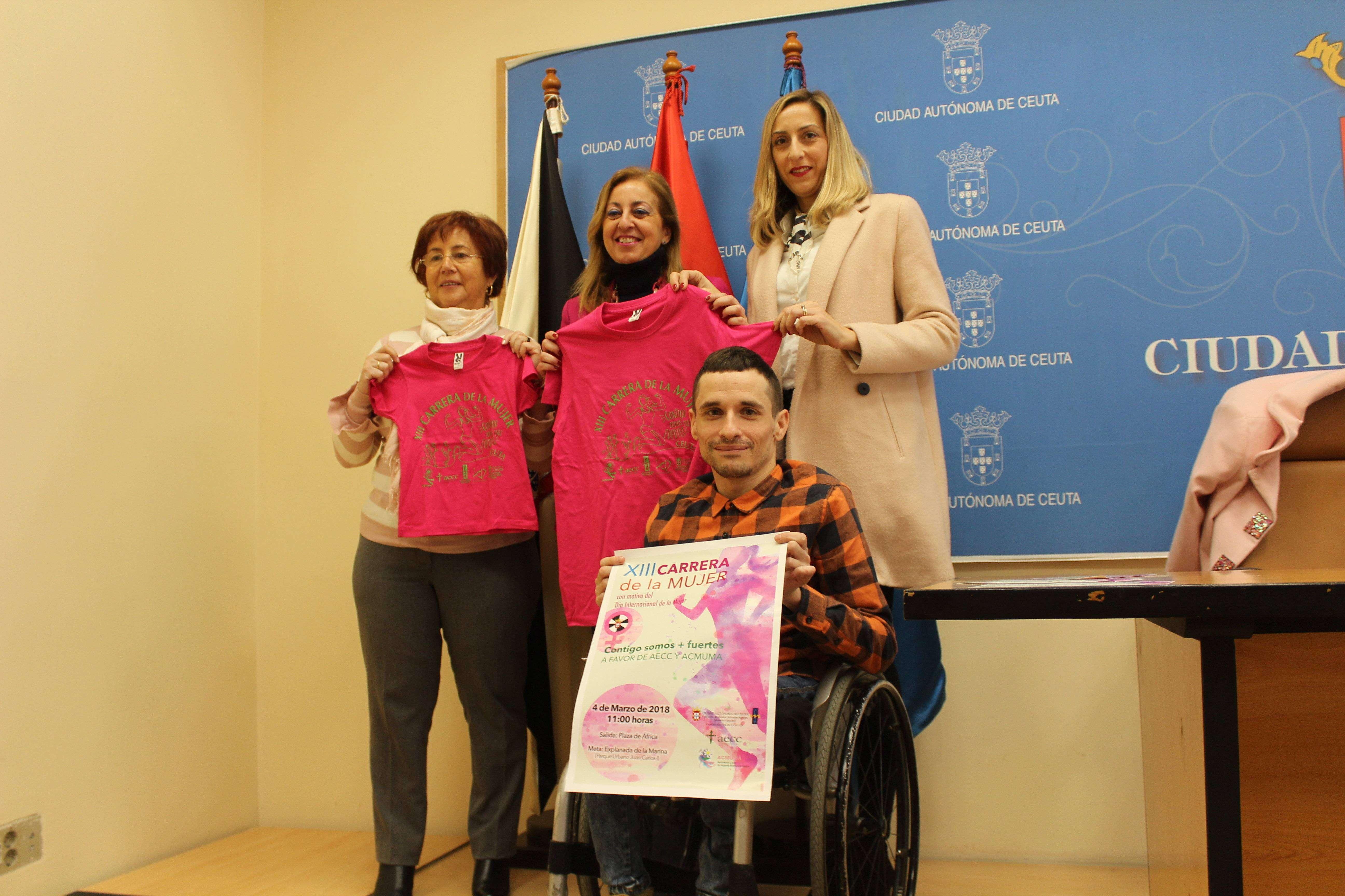 5.000 camisetas a la venta para la Carrera de la Mujer