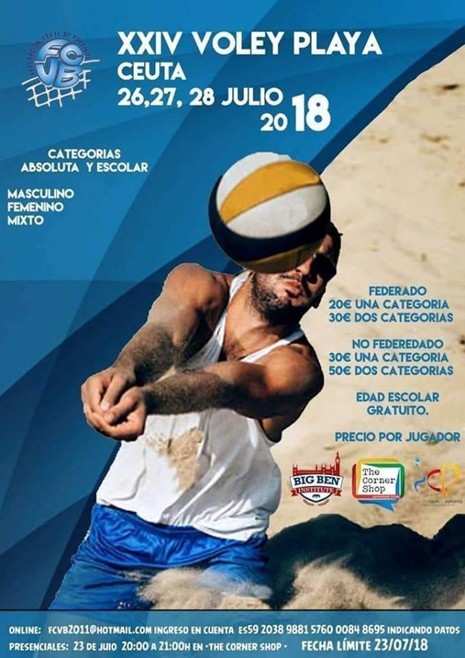 CARTEL VOLEY-PLAYA.